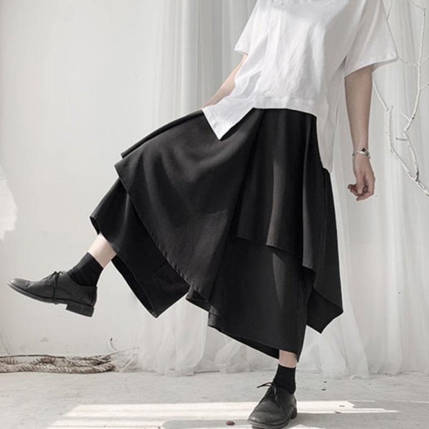 DARCY - Layered Wide Leg Pants - women's clothing