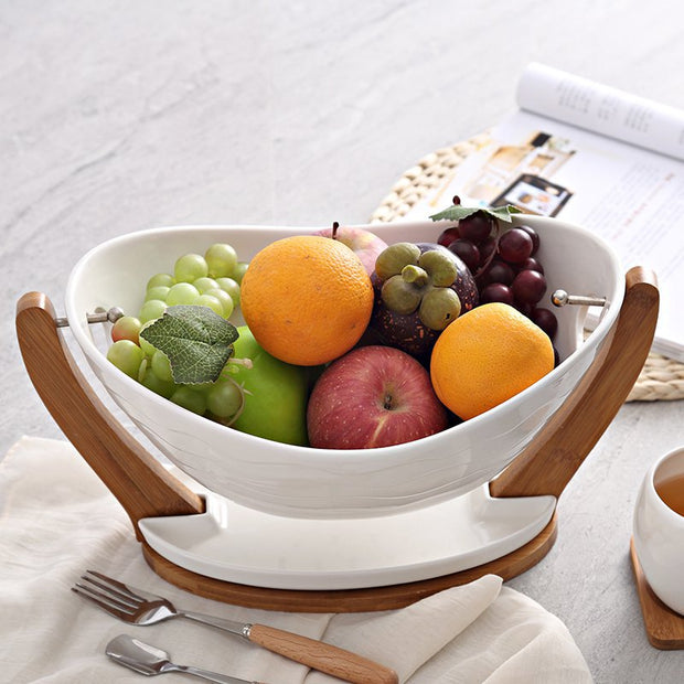 Ceramic Fruit Bowl - THE BENJAMIN ORGANIZATION