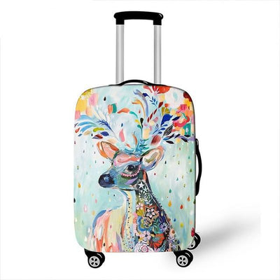 Deer Luggage Cover - 24 / L - Luggage covers