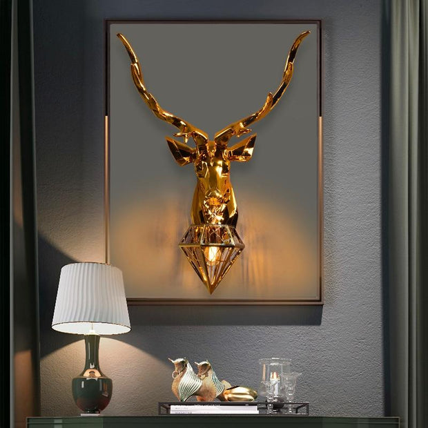 Deer Pendant Wall Light - lighting