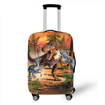 Dinosour Luggage Cover - 5 / L - Luggage covers