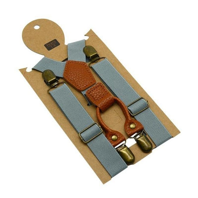 Ethan Gray Suspender - Boy's suspenders