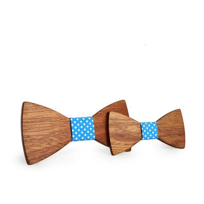Father and Son Wooden Bowtie - Father and Son Collection