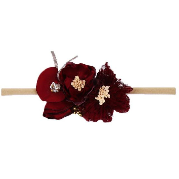 Floral Headband - girls hair accessories