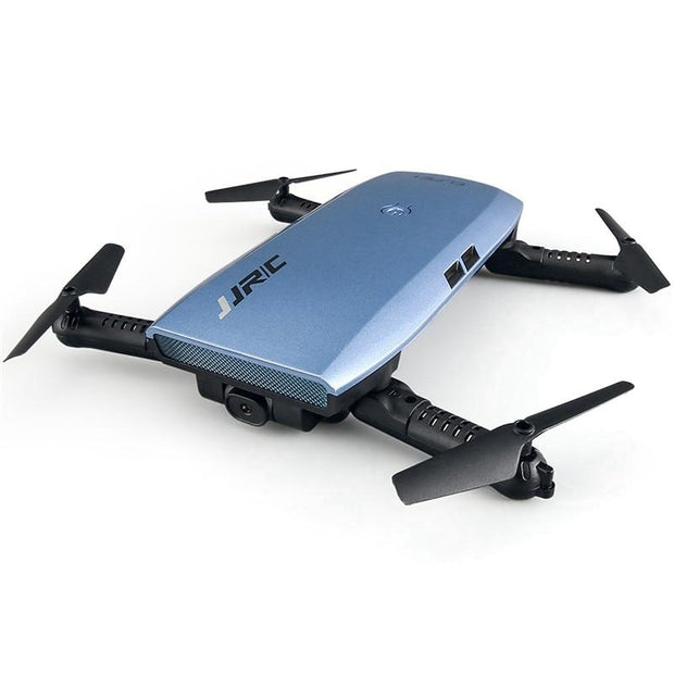 Foldable Selfie RC Drone with HD Camera - Blue - Drones