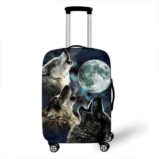 Full Moon Luggage Cover - 19 / L - Luggage covers