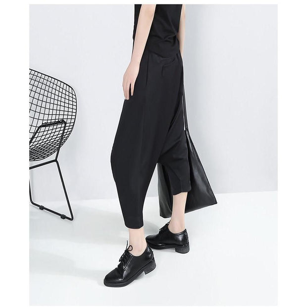 GEORGIA - Loose Fit Pants - women's clothing