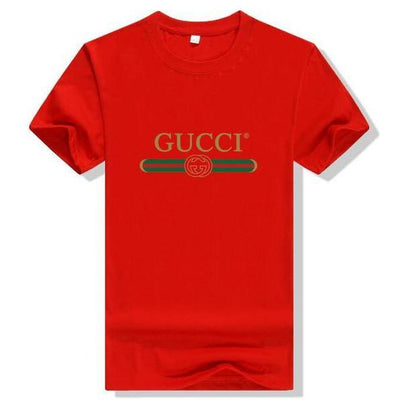 Gucci Logo Cotton T-shirt Red - S - Women's blouses