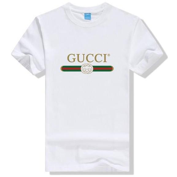 Gucci Logo Cotton T-shirt White - S - Women's blouses