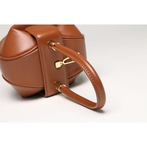 Hailey Leather Tan Tote - Handbags