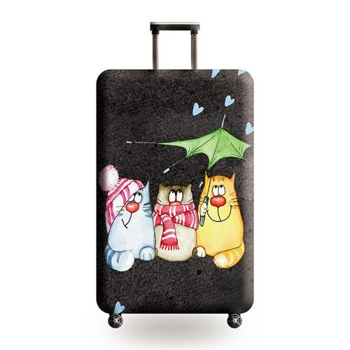 Happy Travellers Travel Luggage Cover - 21 / L - Luggage