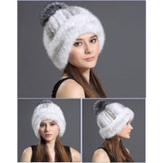 Harmony Mink Fur Hat - Women's Winter Hat