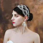 Harper Crystal Tiara - Hair Jewelry