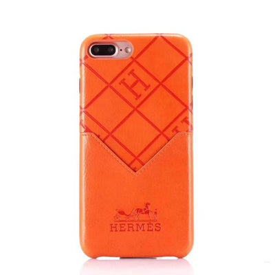 Hermes Phone Case with Card Slot - for IPhone X/XS - Phone