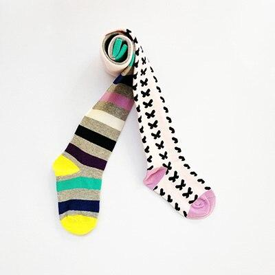 Hot children striped pantyhose Cotton Tights For Girls Girls