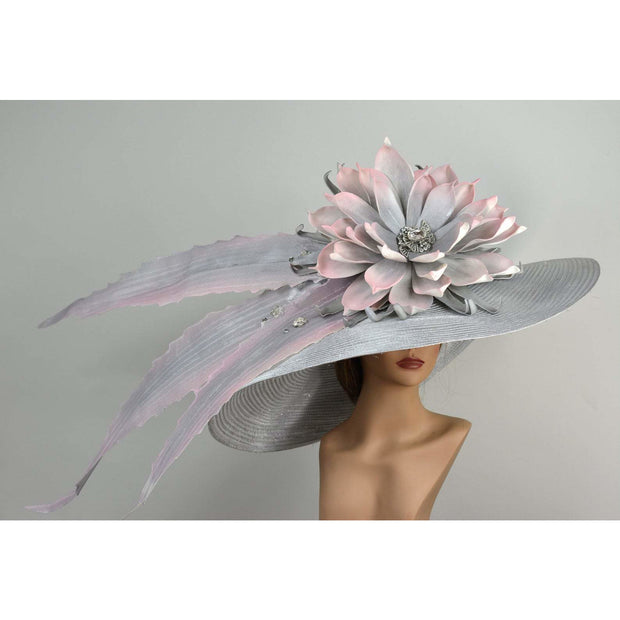 METZ - Crystal Embellished Vogue Silver Hat