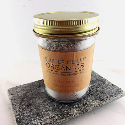 Detox bath epsom salt clay essential oil soak - THE BENJAMIN ORGANIZATION