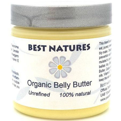 Organic Belly Butter - beyond preventing stretch - THE BENJAMIN ORGANIZATION