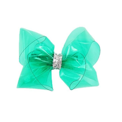 Jelly Glitter Hair Bows - Girls Hair bows