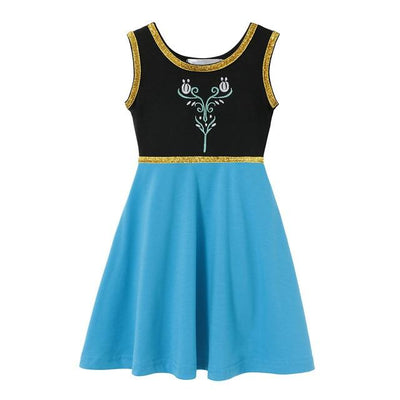 JESSIE - Anna Girls Character Dress - Anna / 4T - girls