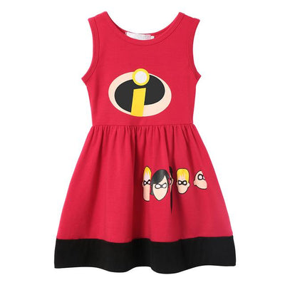 JESSIE - Helen Parr Girls Character Dress - The Incredibles