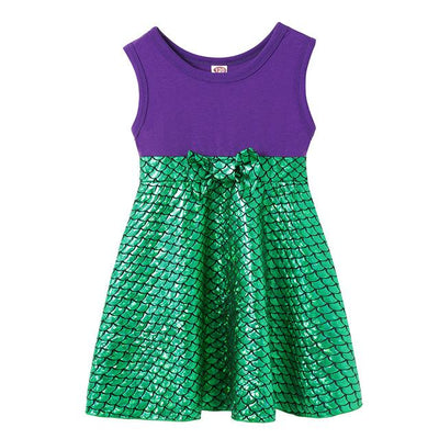 JESSIE - Mermaid Girls Character Dress - Mermaid Ariel / 7 -