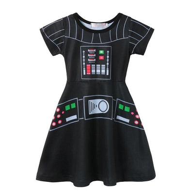JESSIE - Star Wars Girls Character Dress - Dath Vader 1 / 5