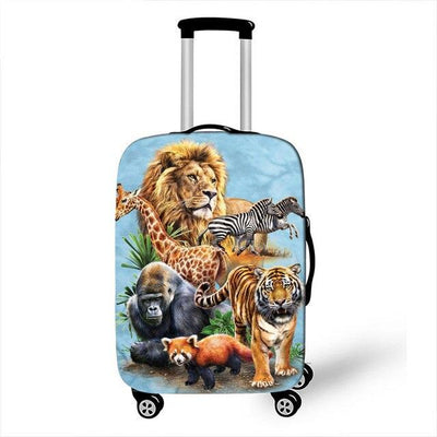 Jungle Luggage Cover - 16 / L - Luggage covers