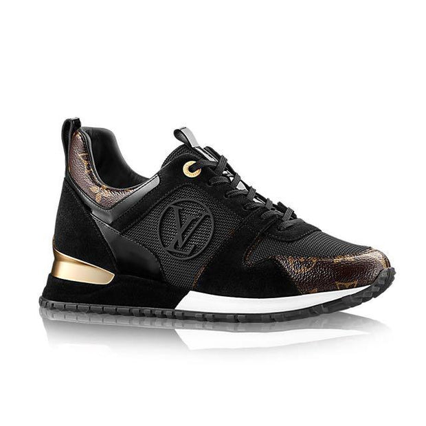 Louis Vuitton Run Away Sneakers Black - Women's shoes