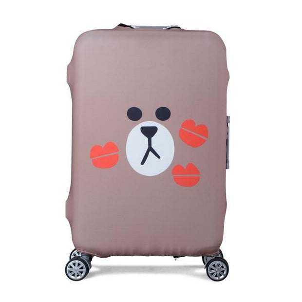 Loveable Bear Luggage Cover - 4 / S - Luggage covers