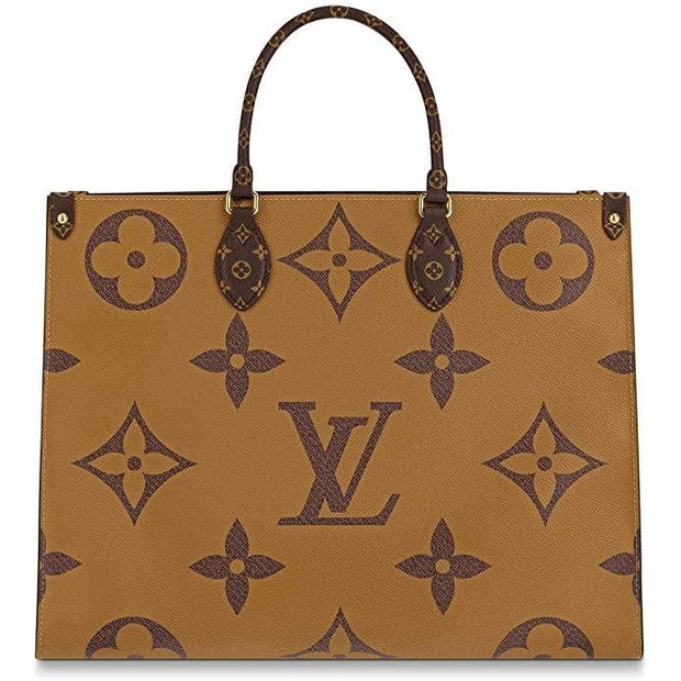 LV Onthego Monogram Canvas - Brown - Women's Bags