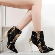 Lyla Pointy Toe Ankle Boot - women's boots