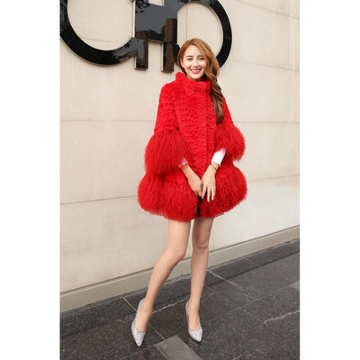 Mabel - Red / S - WOMEN'S COATS