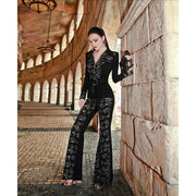 Macie - Jumpsuit - Picture Color / M / China - women's