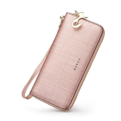 Madison Clutch Rose Gold Wallet - Rose Gold - women's