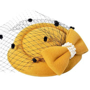Melissa - Yellow - Millinery
