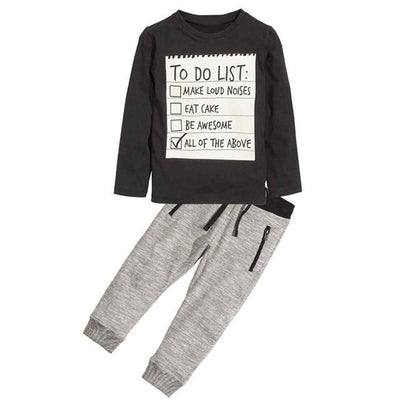 MENOA - Pullover and Jogger Set - AZ082 / 5 - children's