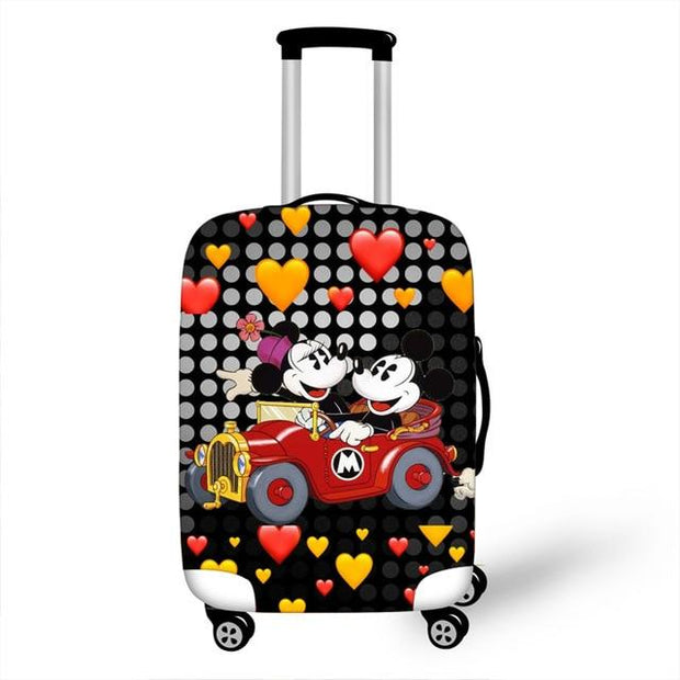 Mickey and Minnie Car Luggage Cover - as pictures 12 / XL -