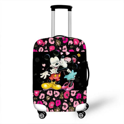 Mickey and Minnie Luggage Cover - as pictures 10 / XL -