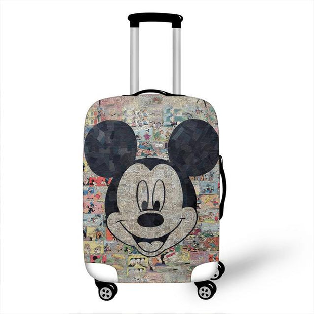 Mickey and Minnie Luggage Cover - as pictures 11 / M -