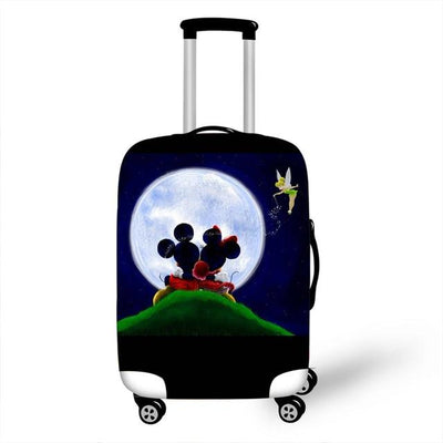 Mickey and Minnie Luggage Cover - as pictures 26 / L -