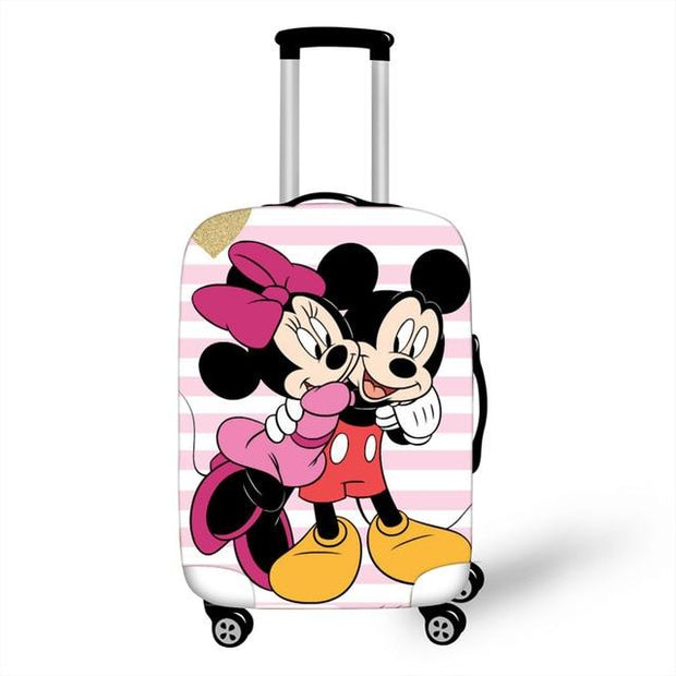 Mickey and Minnie Luggage Cover - as pictures 3 / XL -