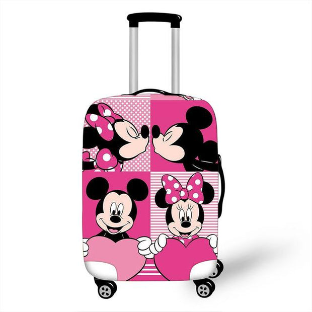 Mickey and Minnie Luggage Cover - as pictures 5 / M -