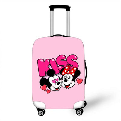 Mickey and Minnie Luggage Cover - as pictures 6 / XL -