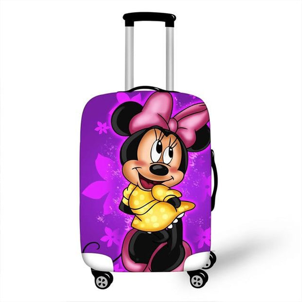 Mickey and Minnie Luggage Cover - as pictures 8 / XL -
