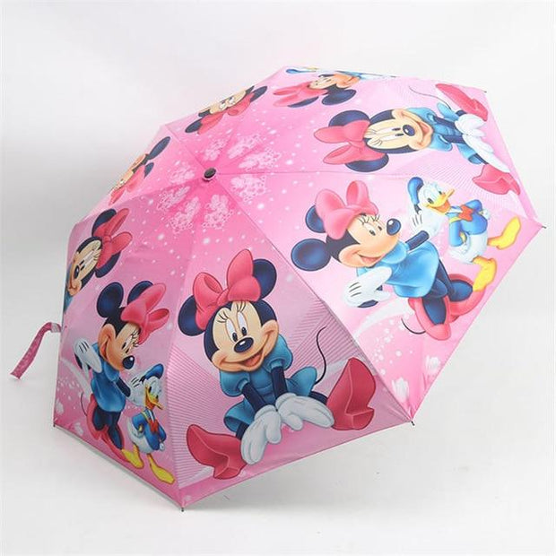 Minnie Mouse Pink Umbrella - Kids Umbrellas