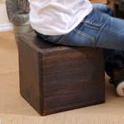 Modern Wooden Storage Stool - stools and ottomans