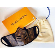 Louis Vuitton Monogram Leather Mask - Large / Brown - face