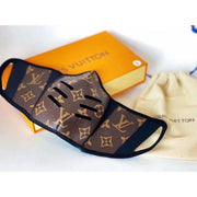 Louis Vuitton Monogram Leather Mask - face mask