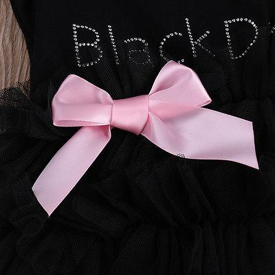 My Little Black Dress Baby Tutu Outfit - newborn